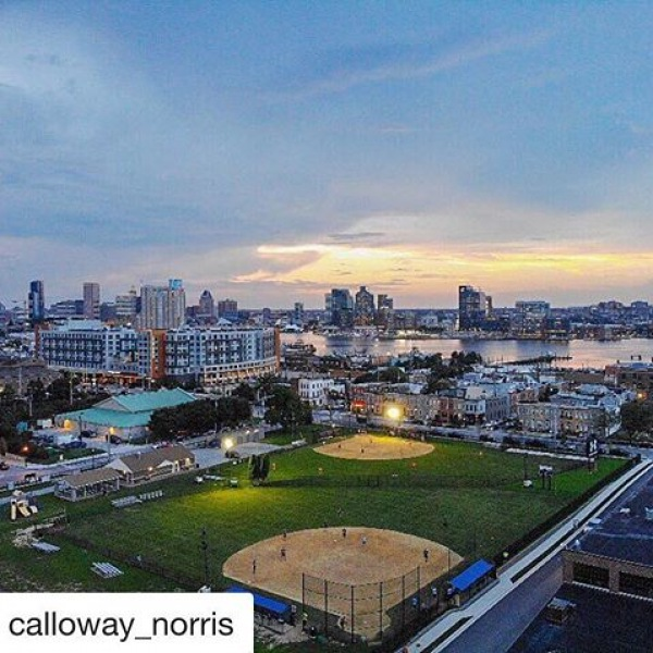 Our residents are the coolest! Check out this awesome drone shot! #porterstreetviews #porterstreetliving #baltimorephotography ————————————— #Repost @calloway_norris with @get_repost ・・・ My first drone shot! Can't wait to fly more! ✈️