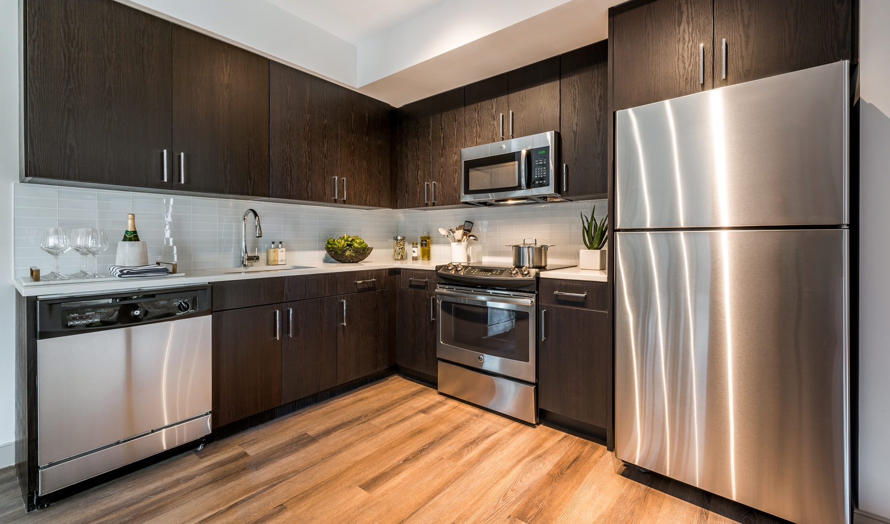 Modern European-Style Cabinetry